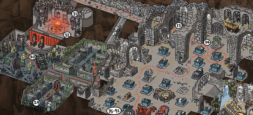 Dungeons And Dragons Maps Mockman.» Archive » Dungeons & Dragons Walkthrough Maps Now